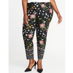 Old Navy Mid-Rise Secret-Slim Pixie Ankle Pants